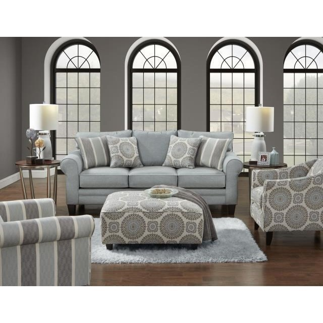 1140 Stationary Living Room Group by Fusion Furniture at Story & Lee Furniture