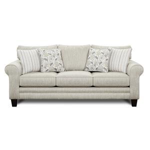 Sofa w/ Accent Pillows