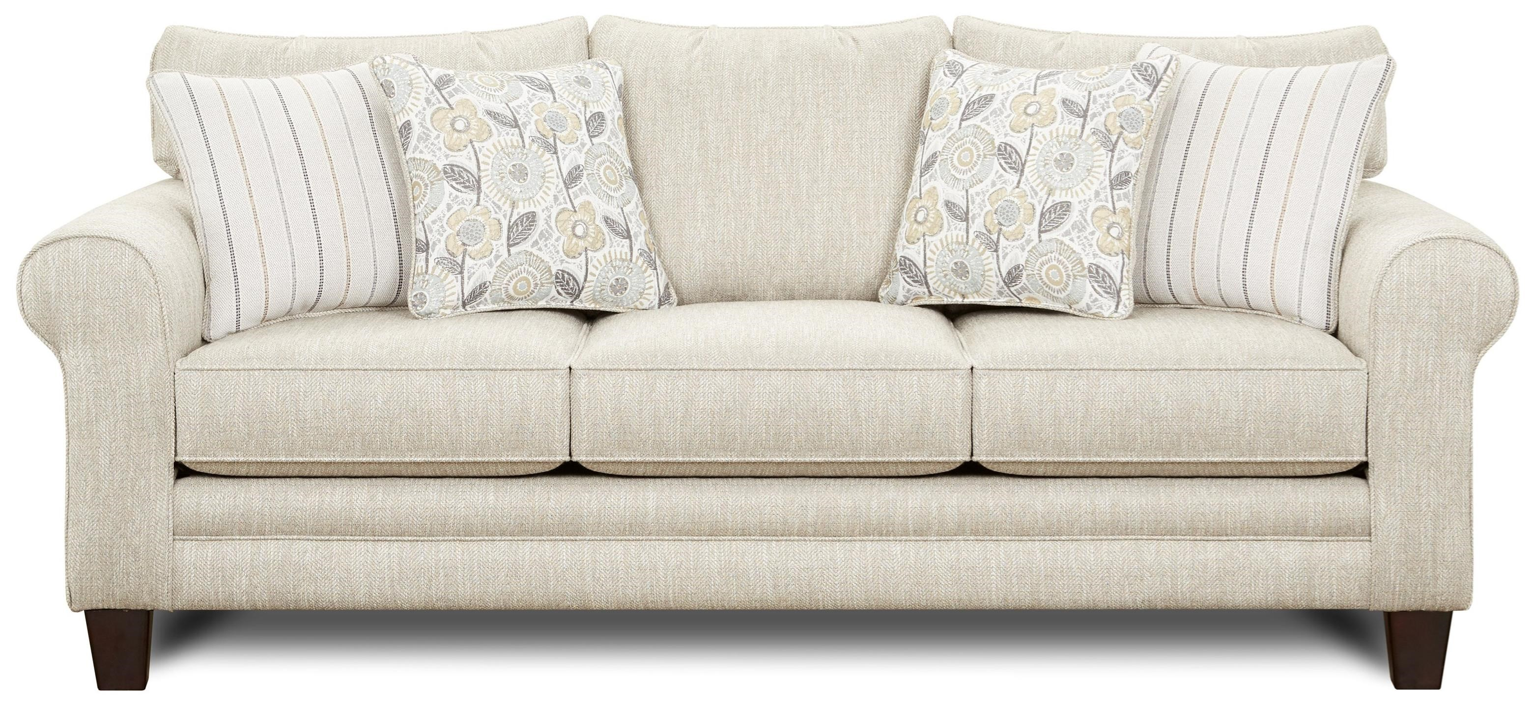 1140 Sofa by Fusion Furniture at Miller Waldrop Furniture and Decor