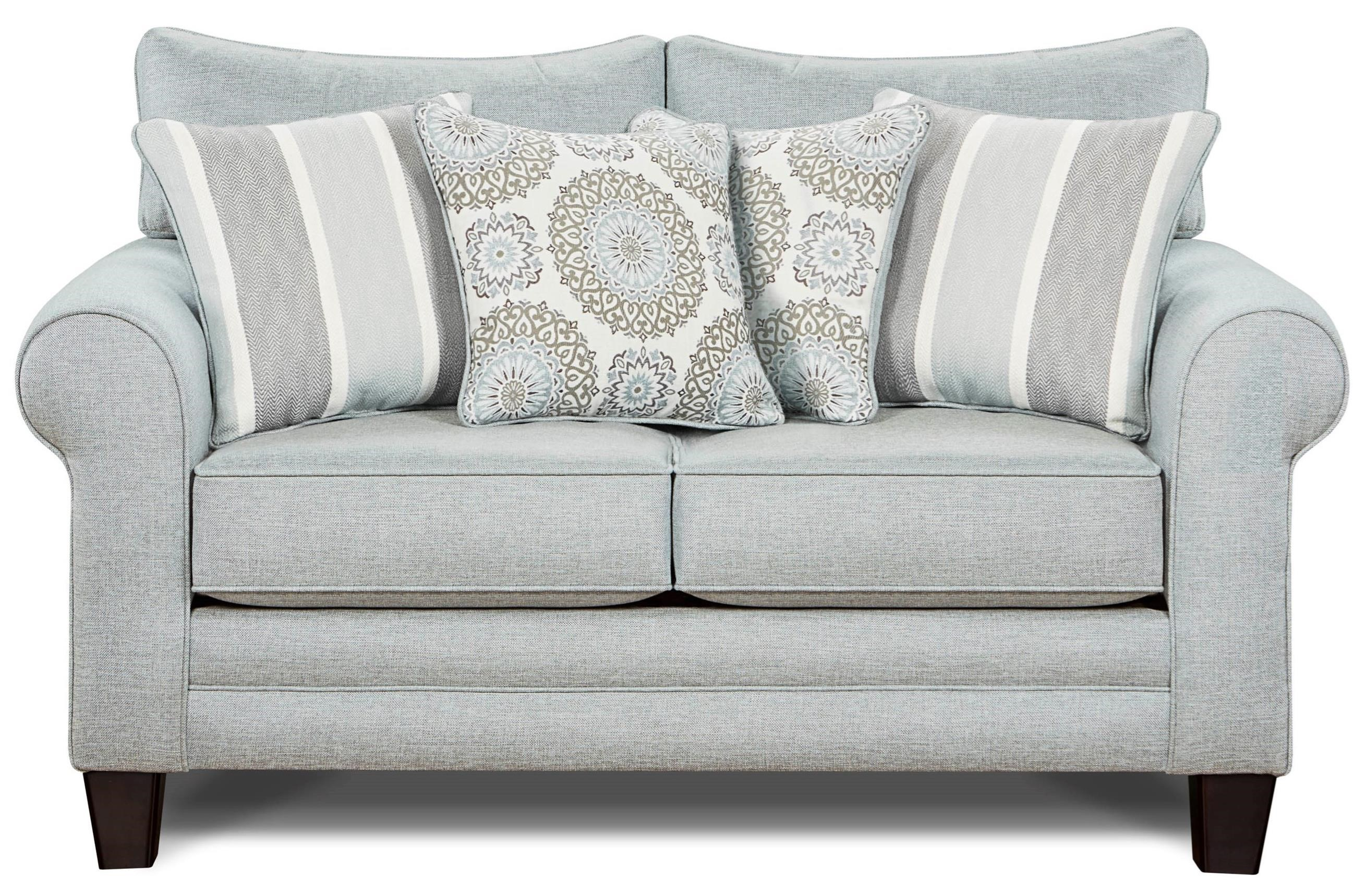 1140 Loveseat by Fusion Furniture at Furniture Superstore - Rochester, MN