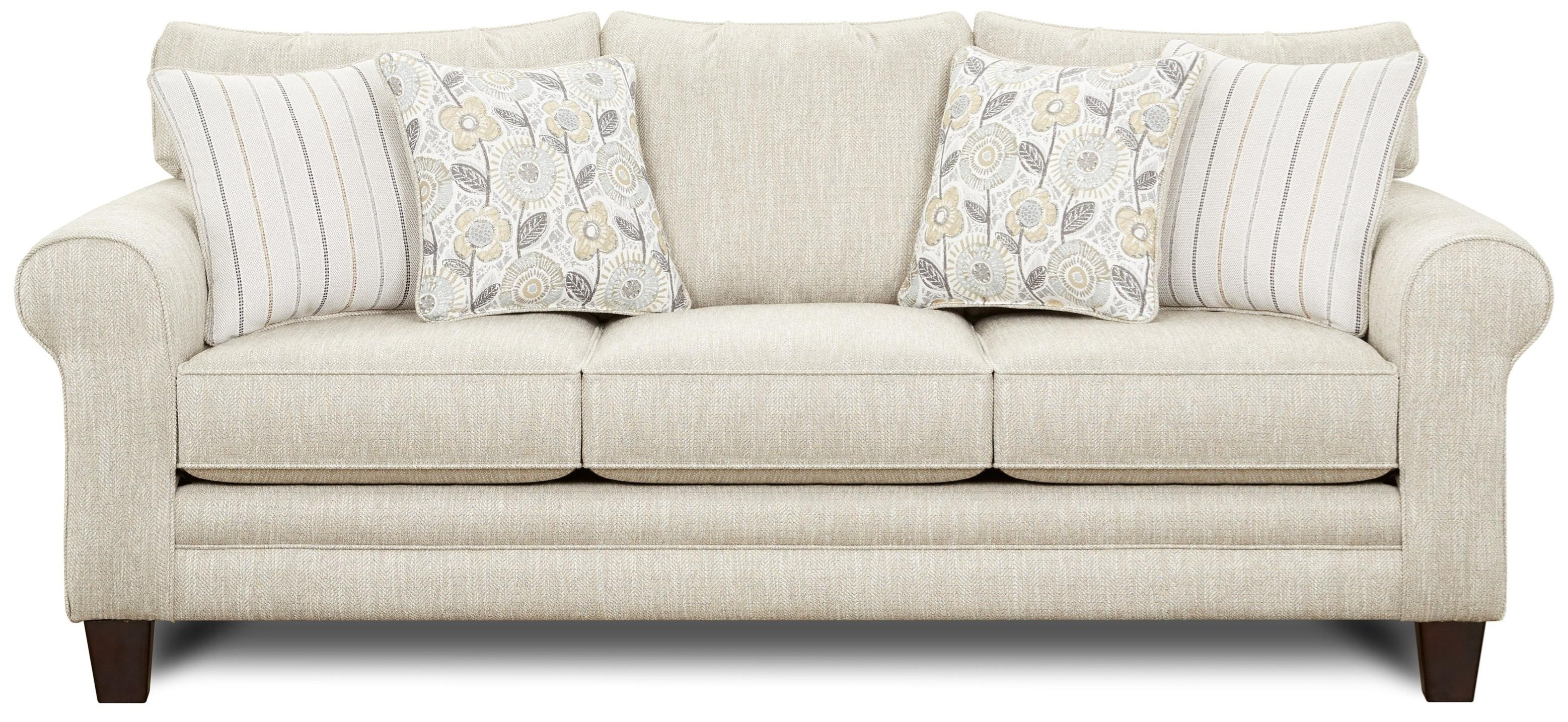 1140 Sleeper Sofa by Fusion Furniture at Miller Waldrop Furniture and Decor
