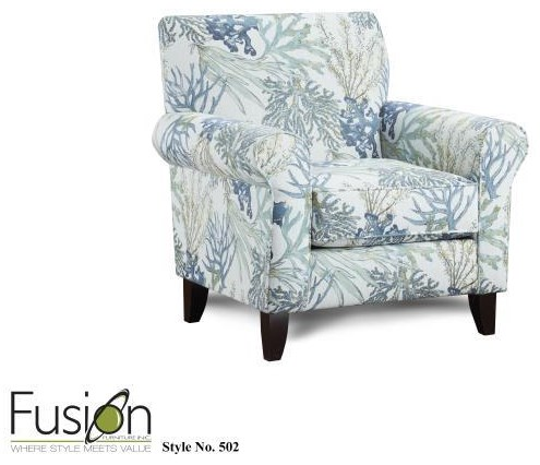 1140 502 CORAL REEF CHAIR by Fusion Furniture at Furniture Fair - North Carolina