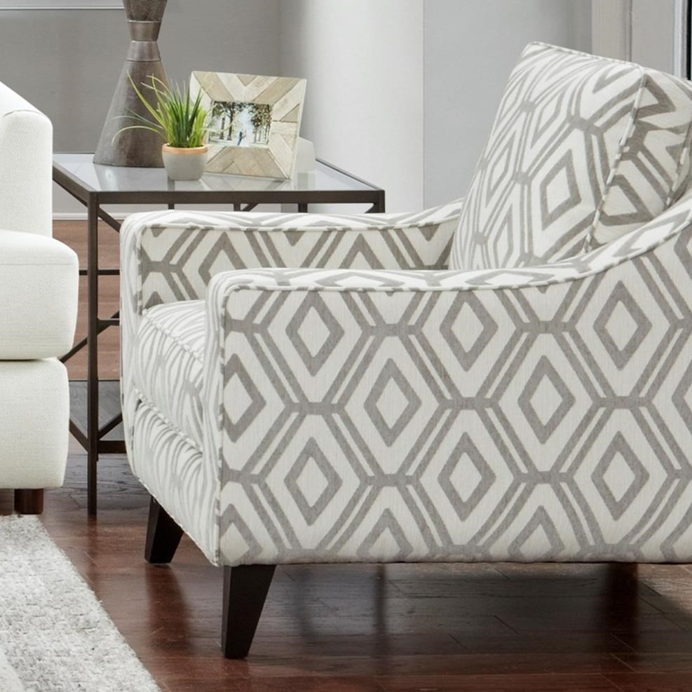 1392 Accent Chair by Fusion Furniture at Miller Waldrop Furniture and Decor