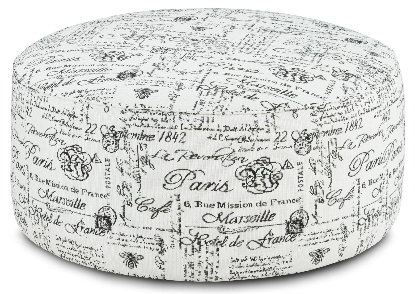 140 Cocktail Ottoman by Fusion Furniture at Dean Bosler's