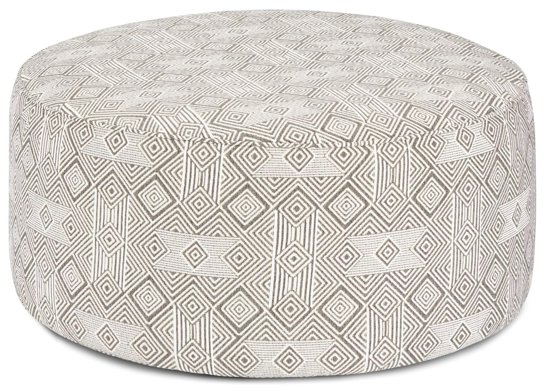 140 Cocktail Ottoman by FN at Lindy's Furniture Company