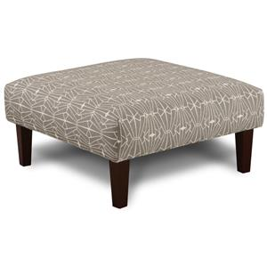 Contemporary Cocktail Ottoman