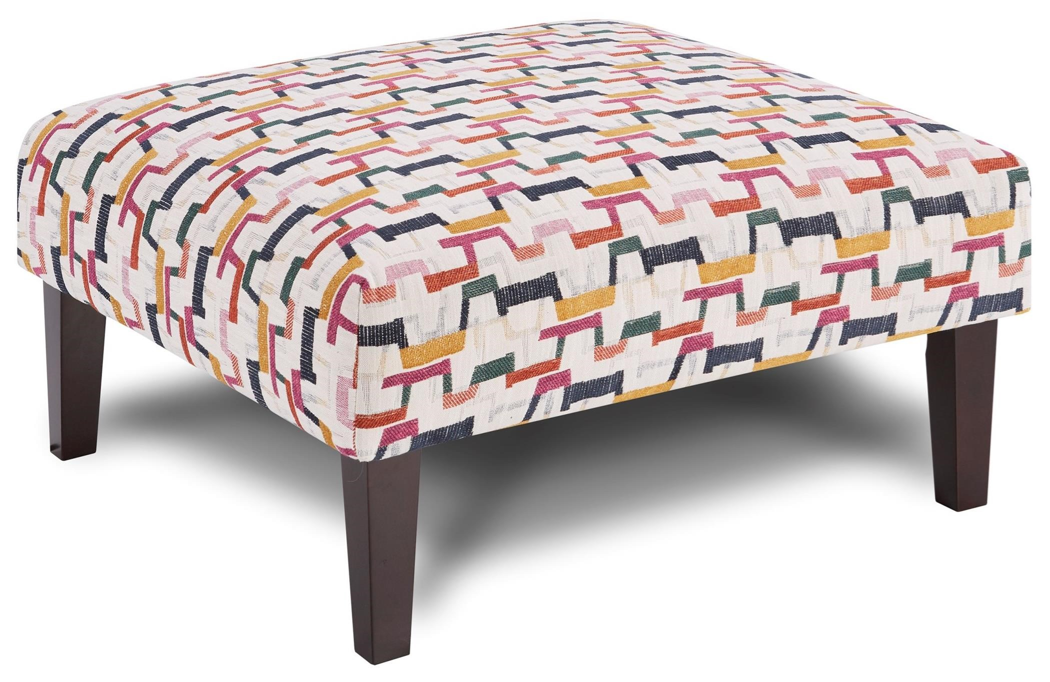 159 Cocktail Ottoman by Fusion Furniture at Wilcox Furniture
