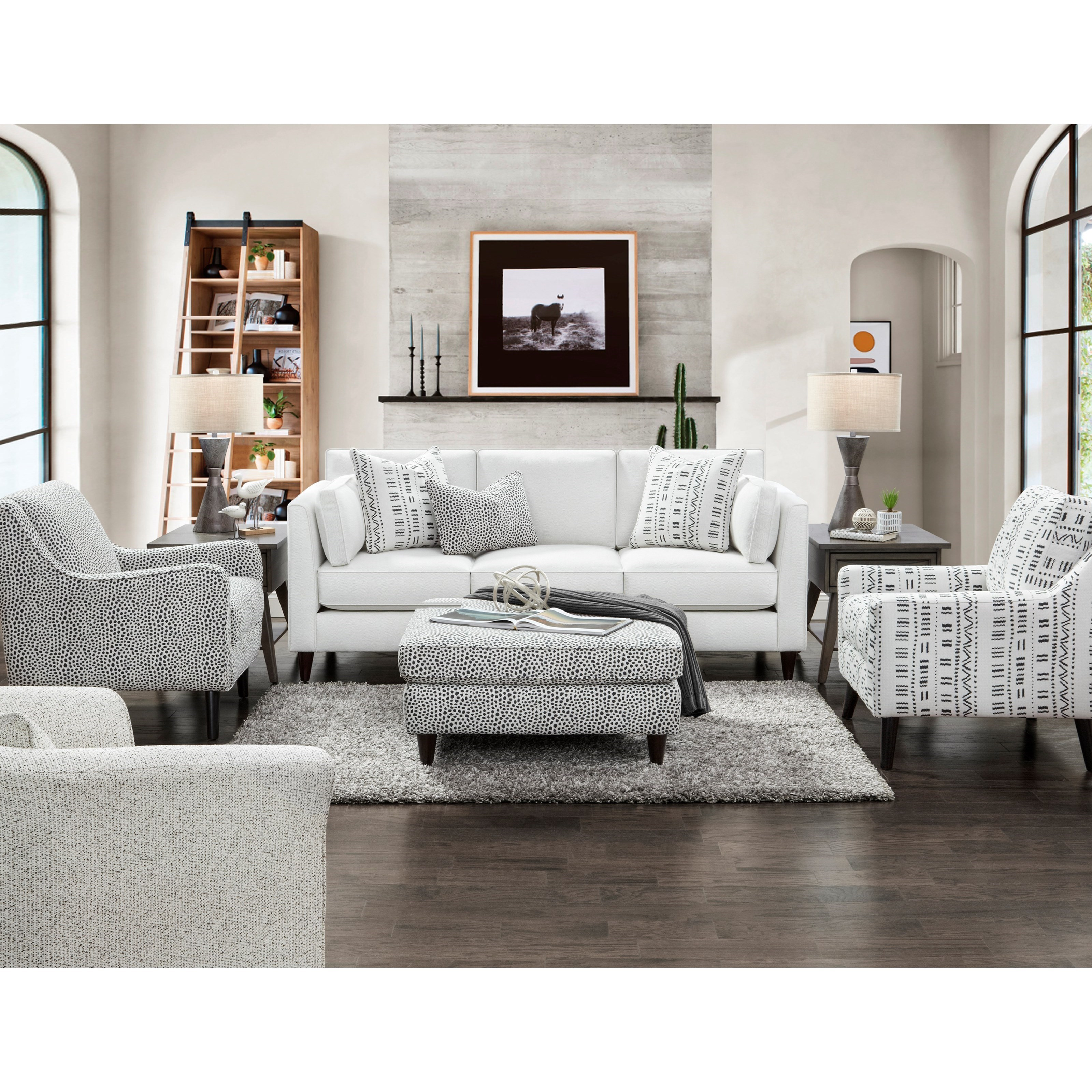 17-00 Living Room Group by Fusion Furniture at Furniture Superstore - Rochester, MN