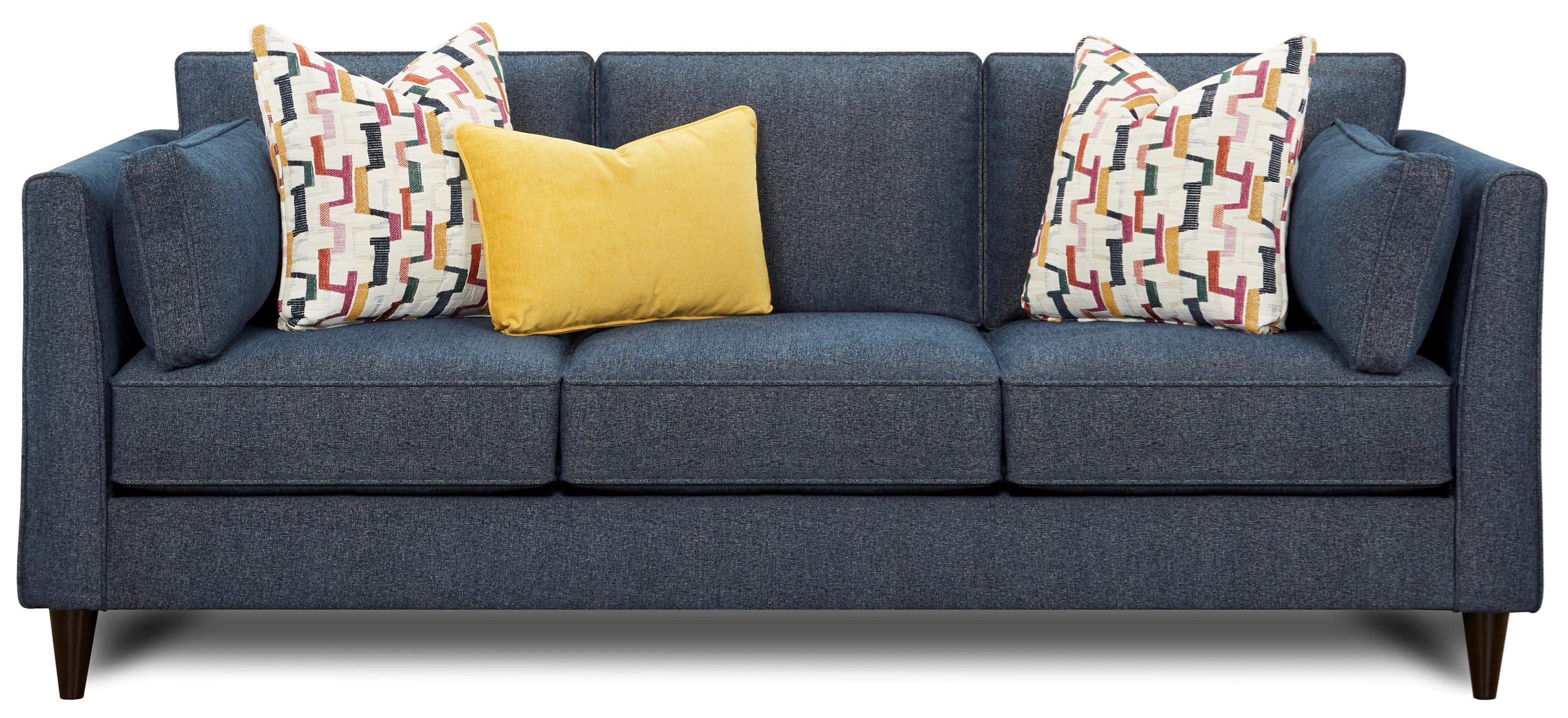 17-00 Sofa by Fusion Furniture at Miller Waldrop Furniture and Decor