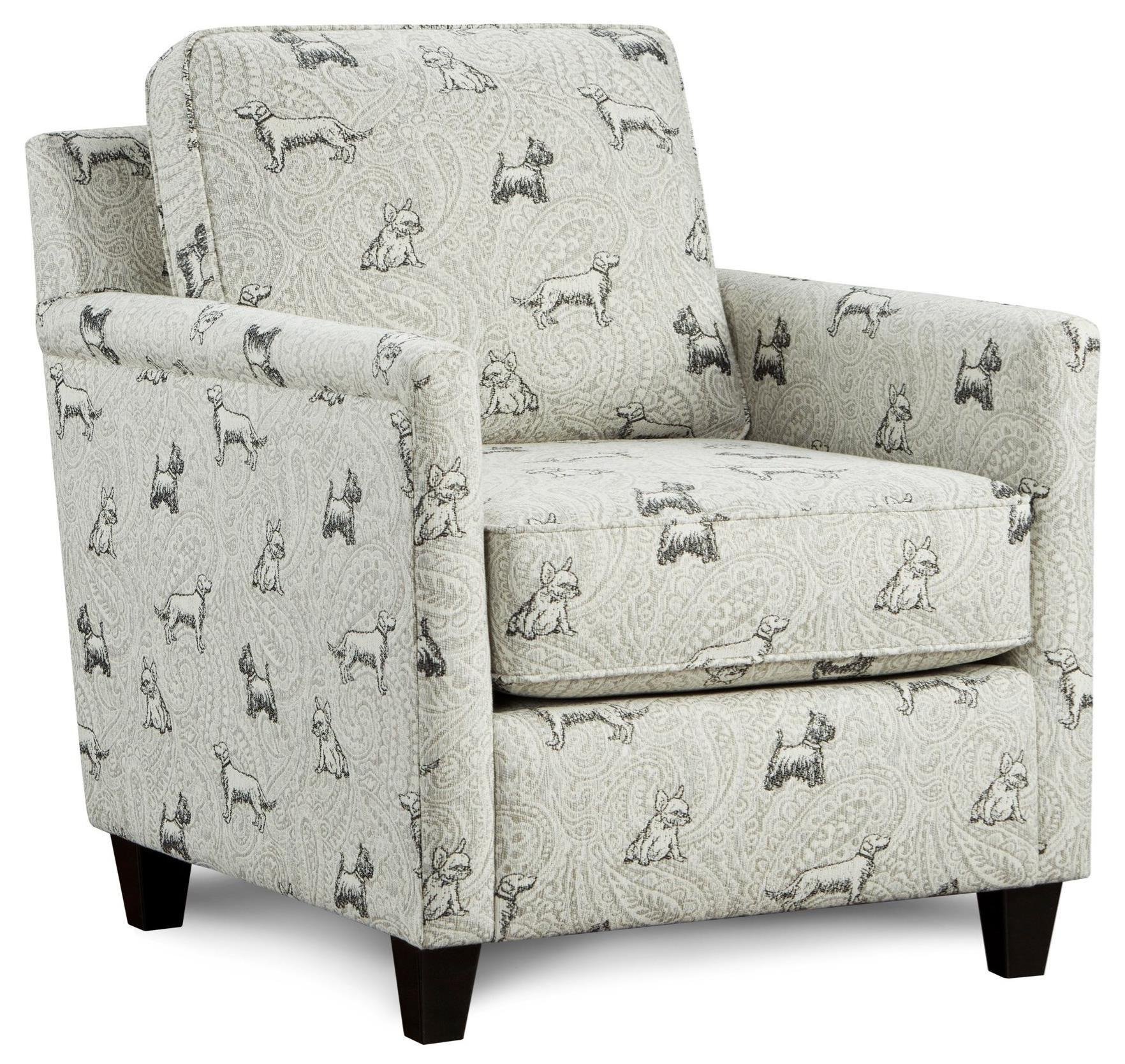 21-02 Accent Chair by Fusion Furniture at Prime Brothers Furniture