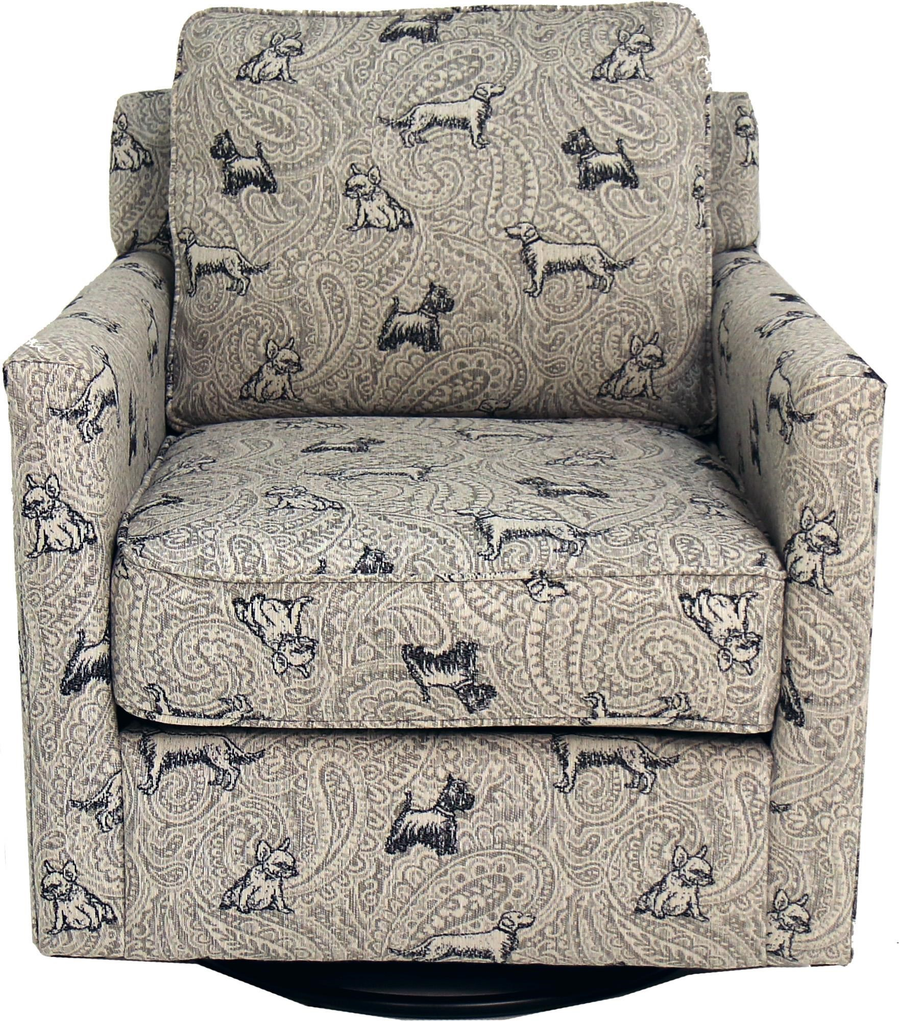 21-02 Swivel Glider Chair by Fusion Furniture at Becker Furniture
