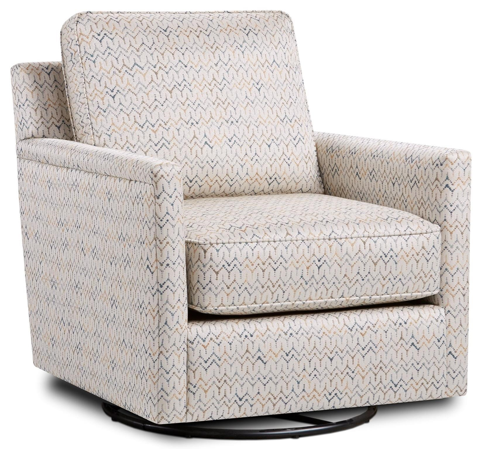 21-02 Swivel Glider Chair by Fusion Furniture at Wilson's Furniture