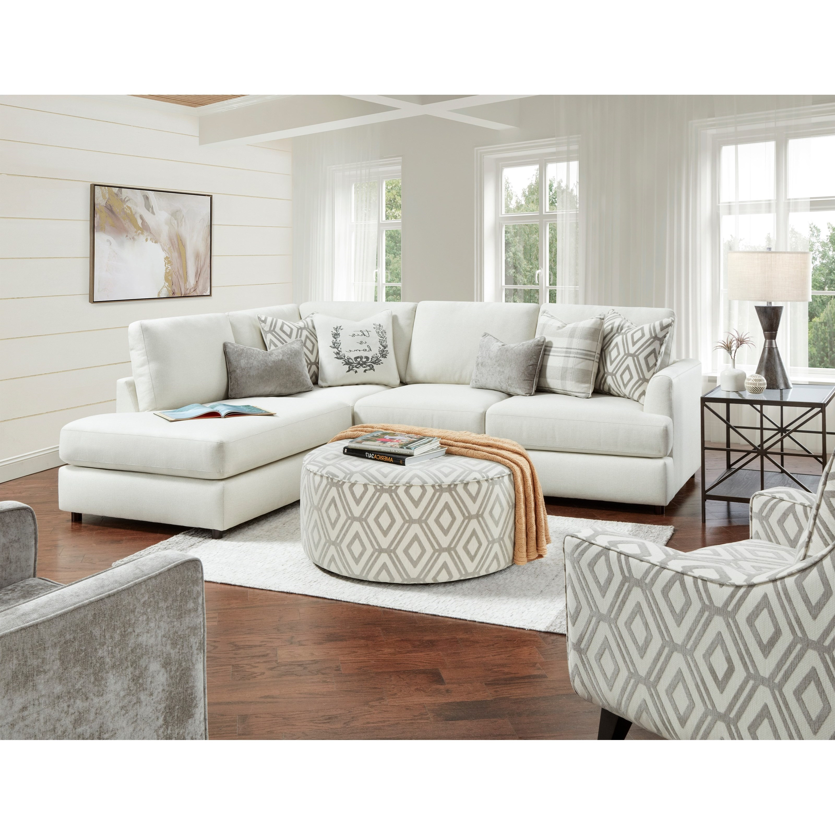 23-00 Living Room Group by Fusion Furniture at Miller Waldrop Furniture and Decor