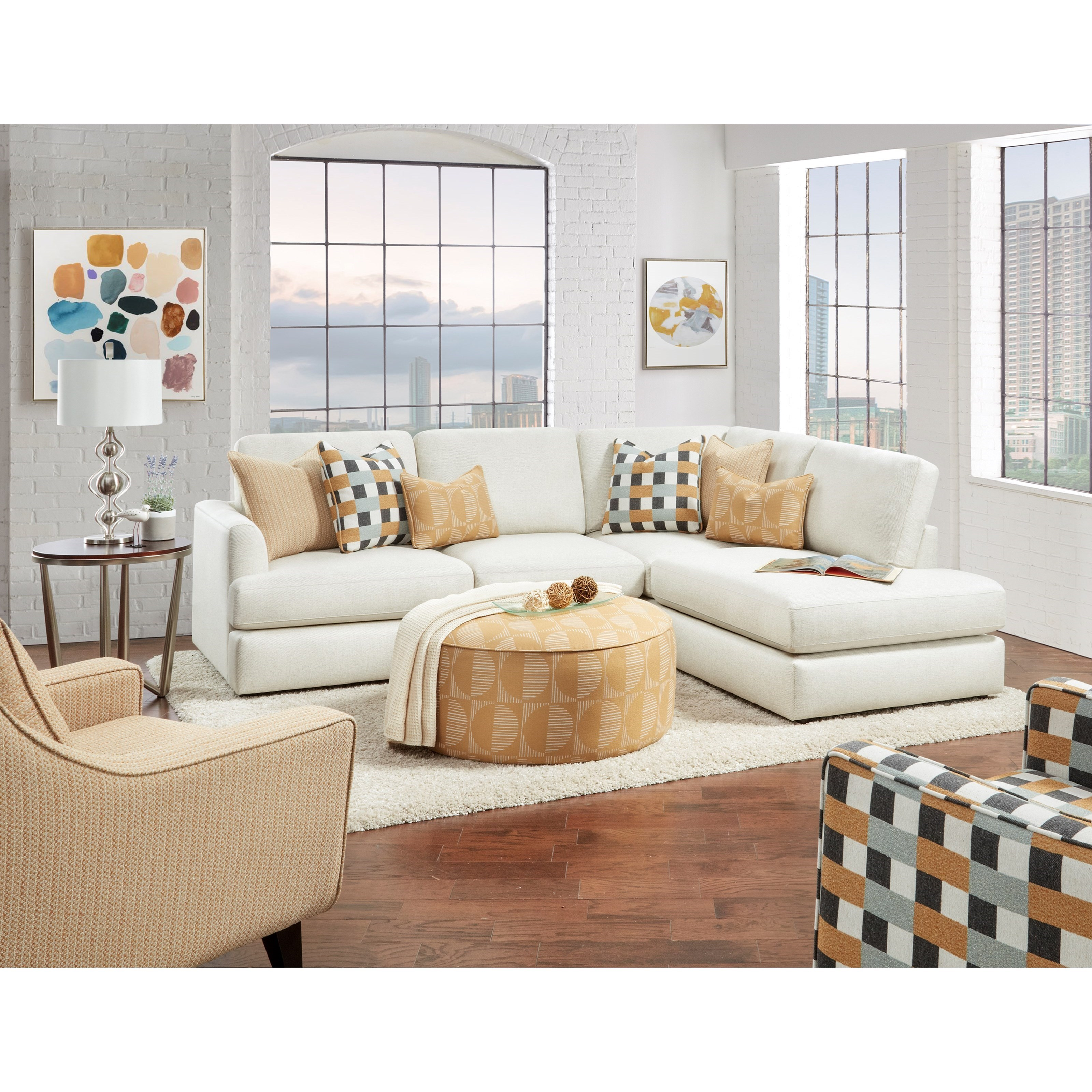 23-00 Living Room Group by FN at Lindy's Furniture Company
