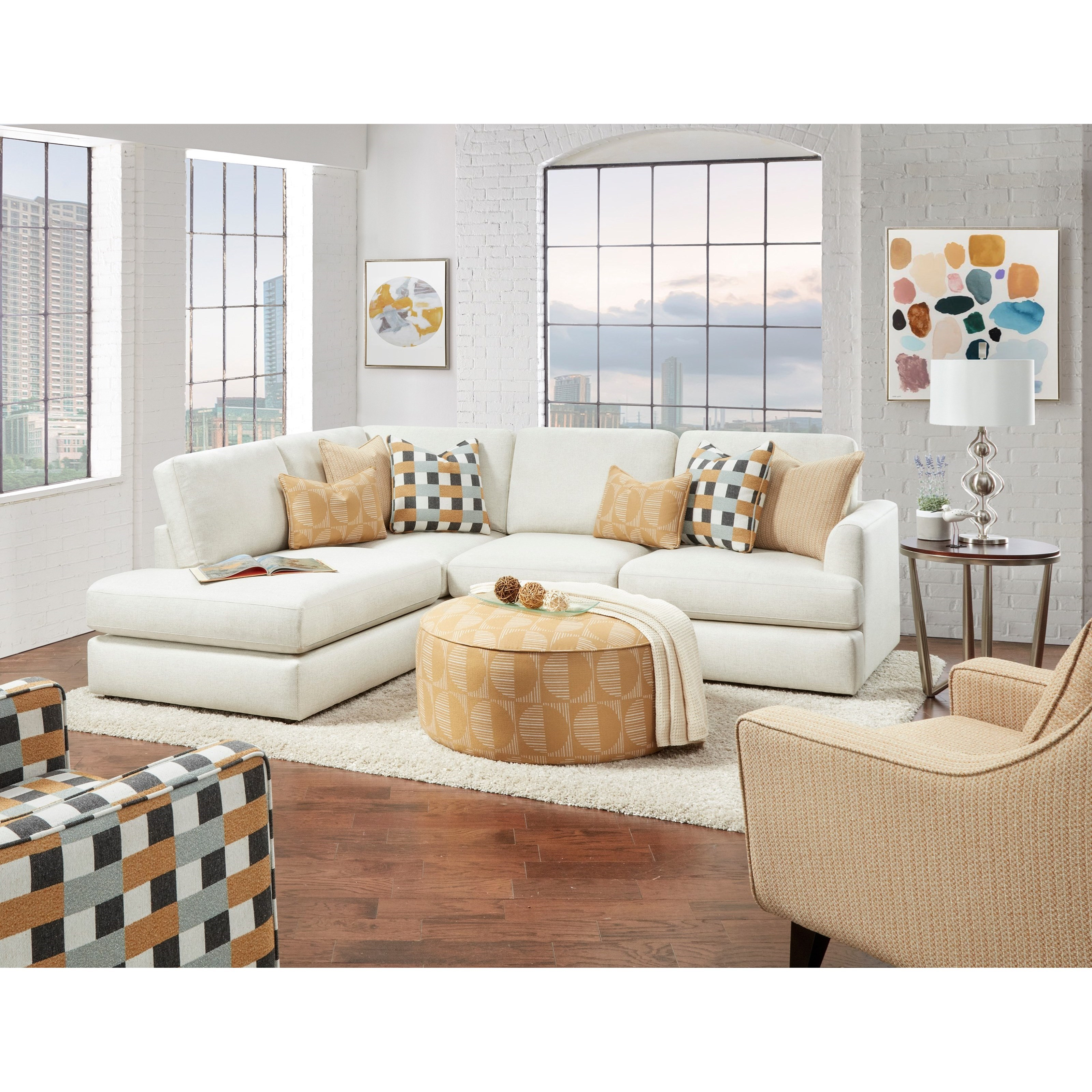 23-00 Living Room Group by Fusion Furniture at Wilcox Furniture