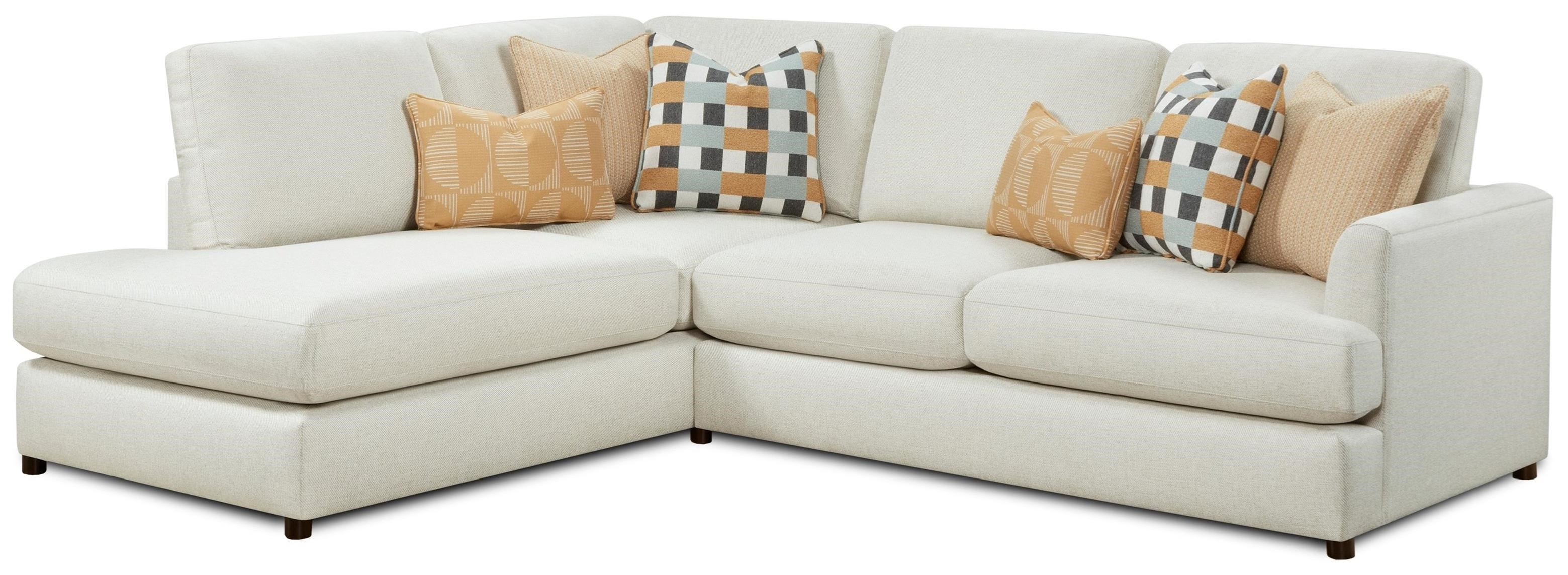 23-00 2-Piece Sectional with Chaise by FN at Lindy's Furniture Company