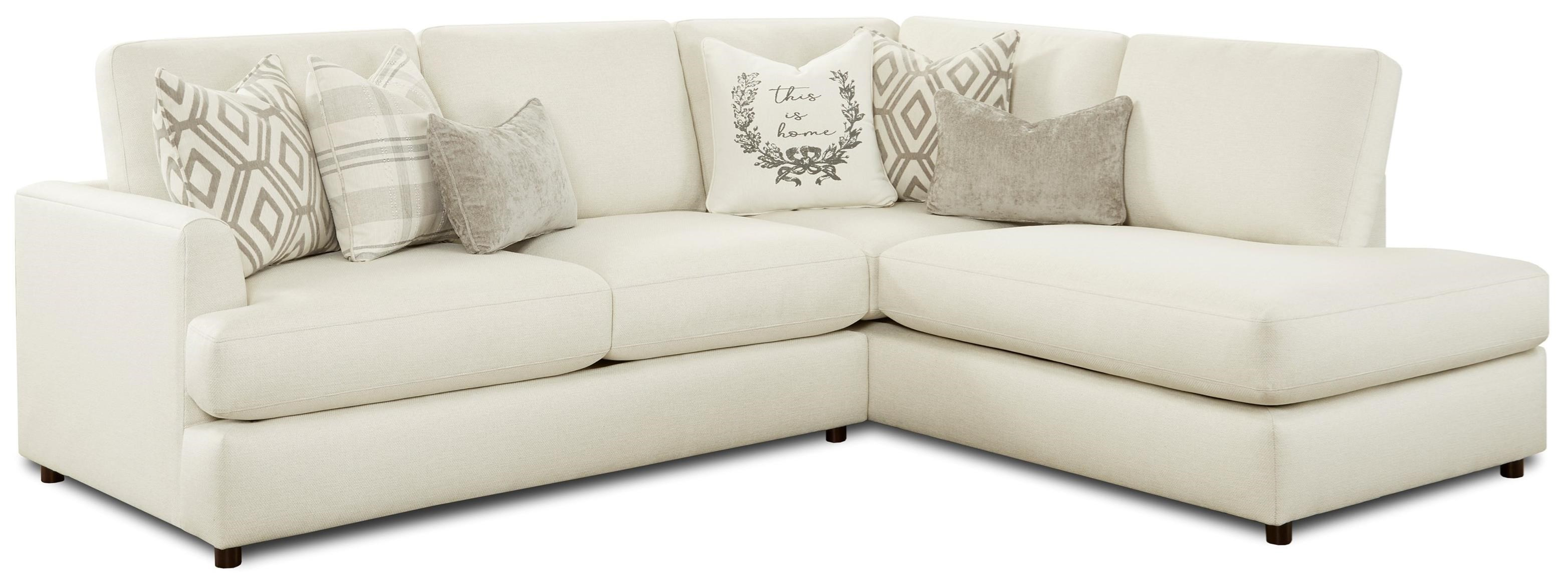 23-00 2-Piece Sectional with Chaise by Fusion Furniture at Furniture Superstore - Rochester, MN