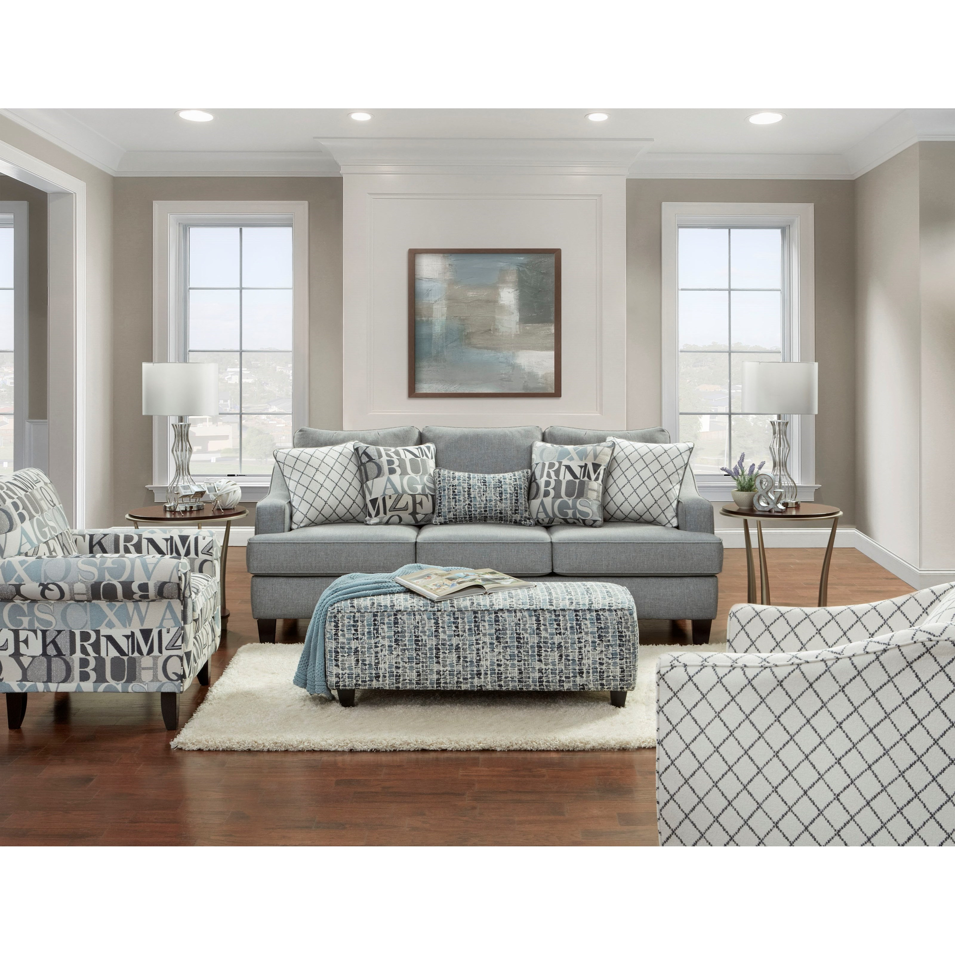 2330 Stationary Living Room Group by Fusion Furniture at Prime Brothers Furniture