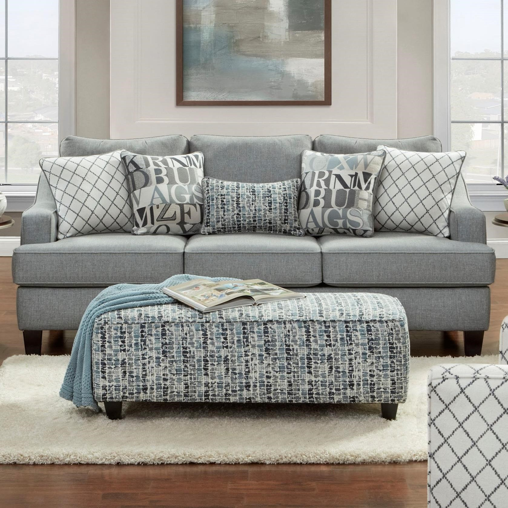 2330 Sofa by FN at Lindy's Furniture Company