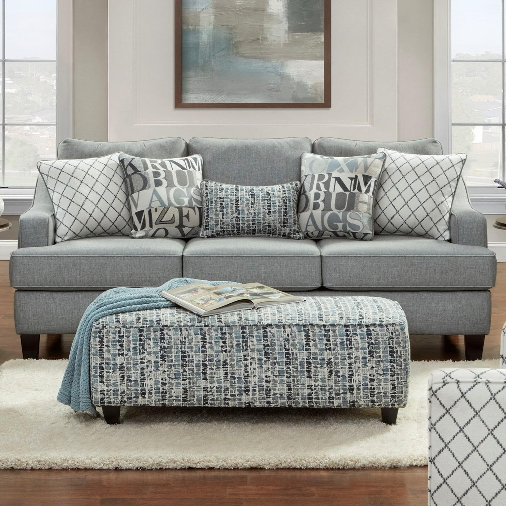 2330 Sleeper Sofa by Fusion Furniture at Prime Brothers Furniture
