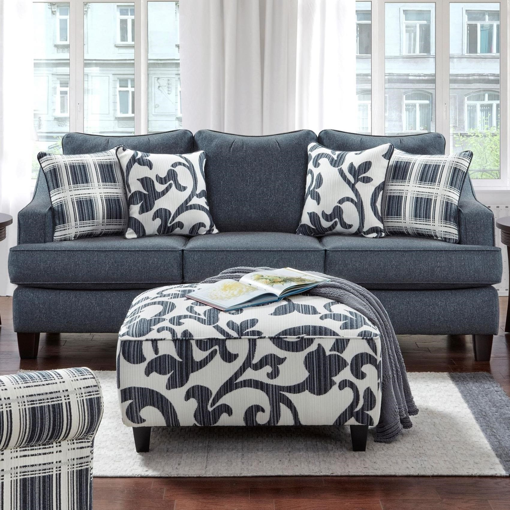 2330 Sleeper Sofa by Powell's V.I.P. at Powell's Furniture and Mattress