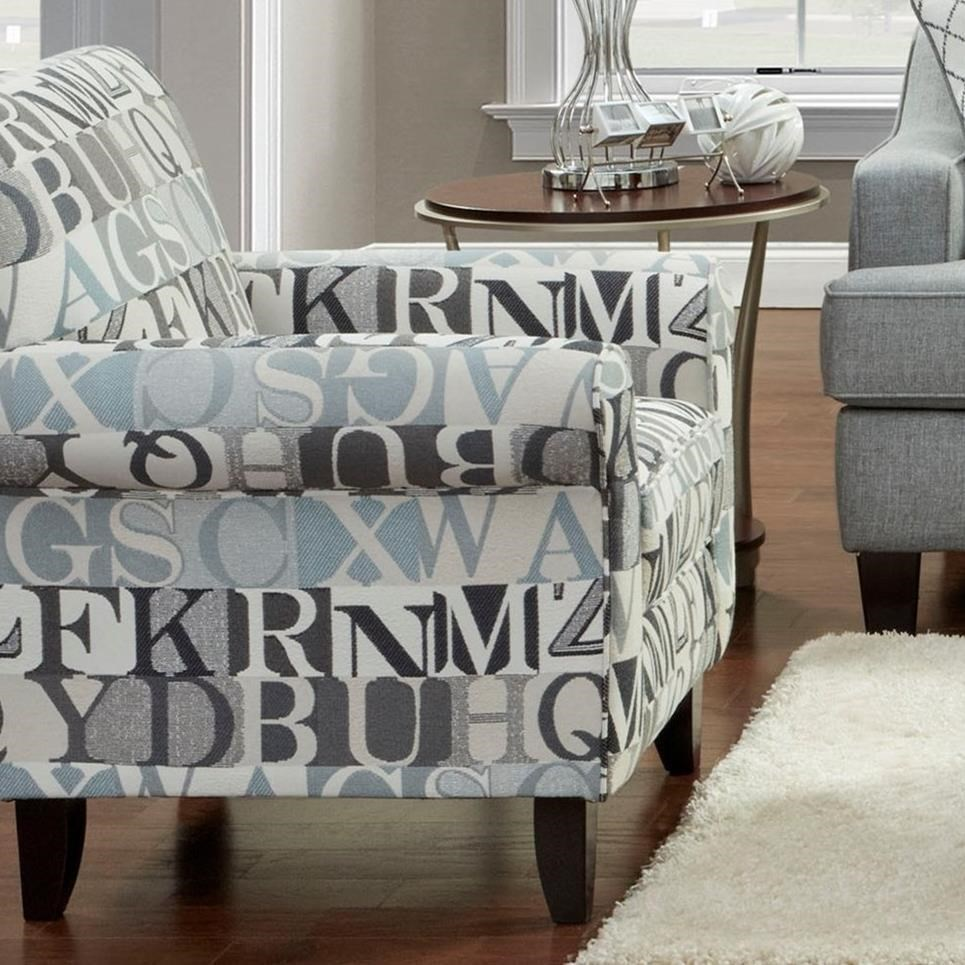 Marissa Accent Chair by Fusion Furniture at Crowley Furniture & Mattress