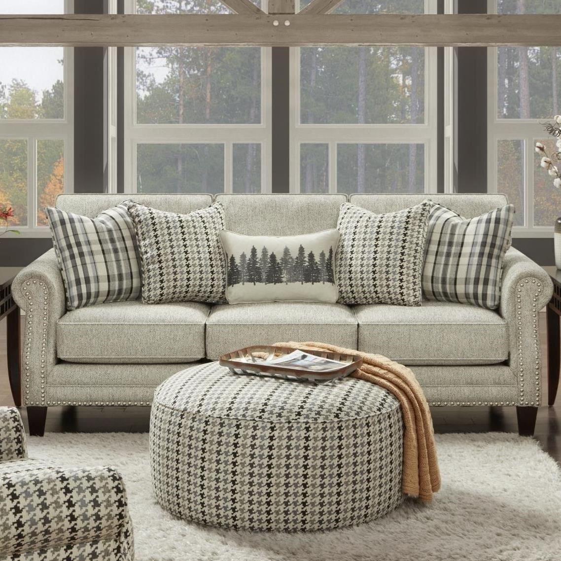 2530 Sofa by Fusion Furniture at Prime Brothers Furniture