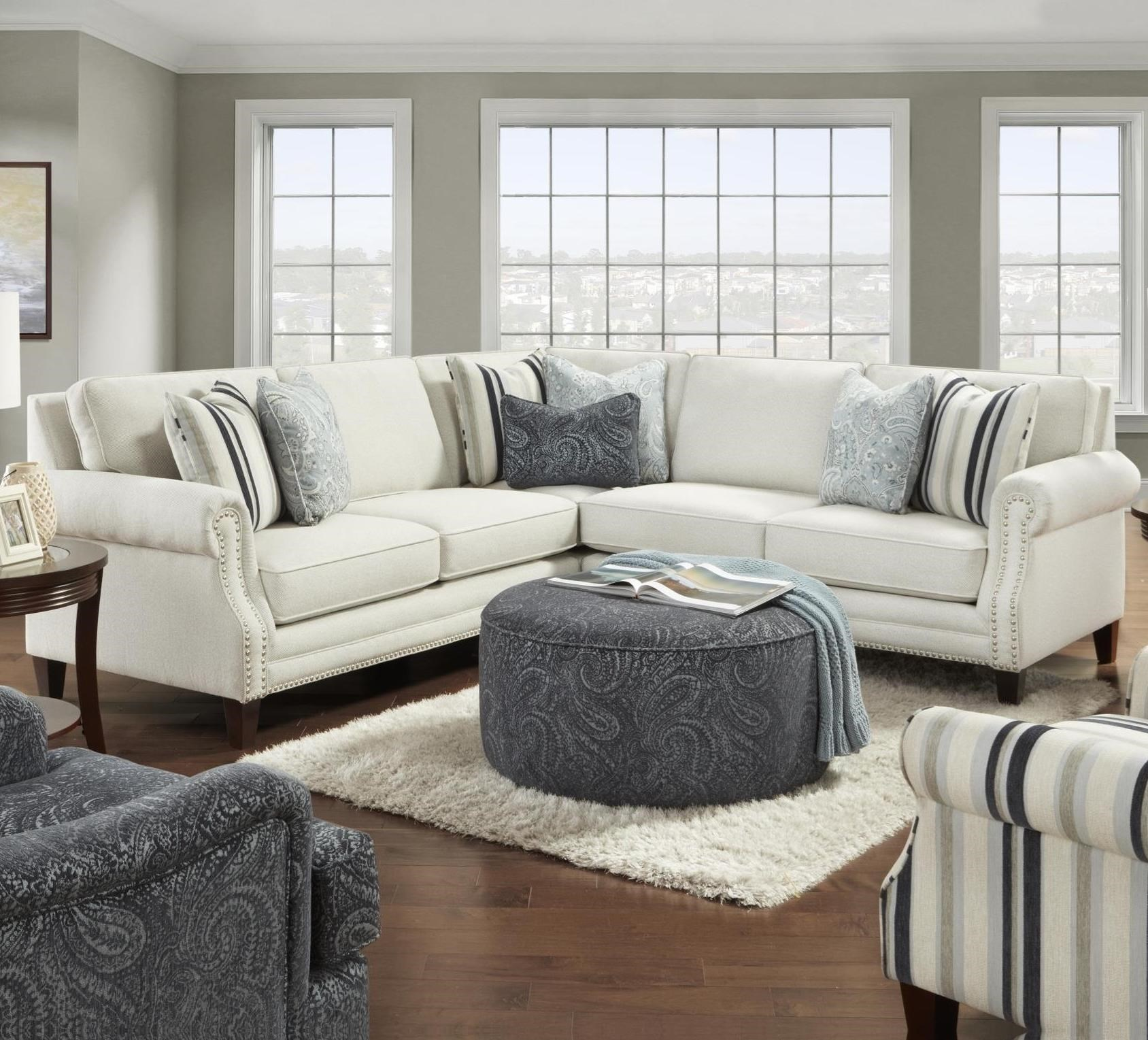 2530 4-Seat Sectional Sofa by Fusion Furniture at Prime Brothers Furniture