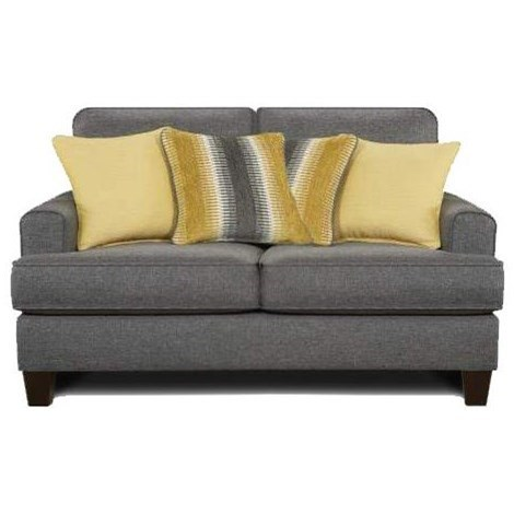 2600 Loveseat by FN at Lindy's Furniture Company