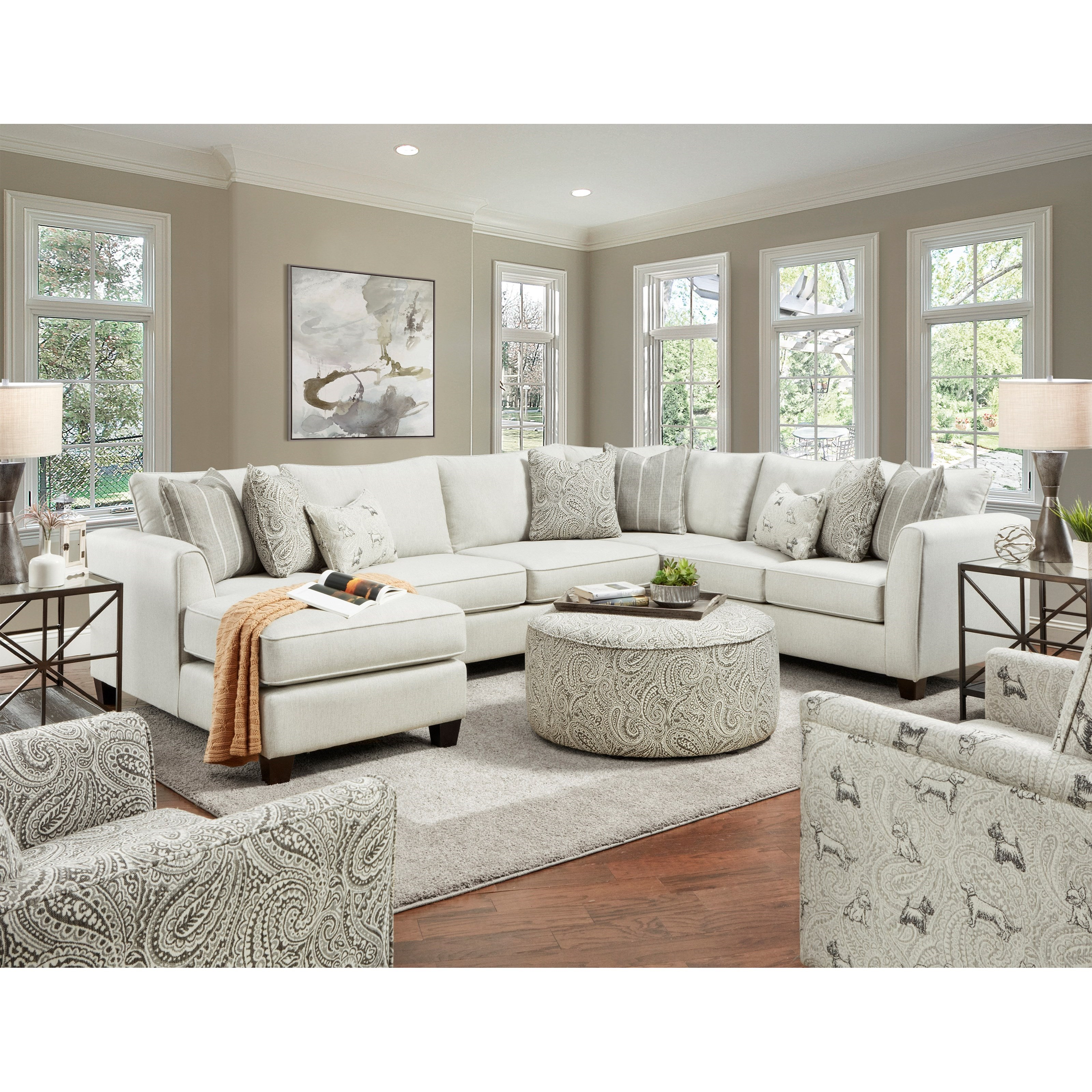 28 Living Room Group by FN at Lindy's Furniture Company