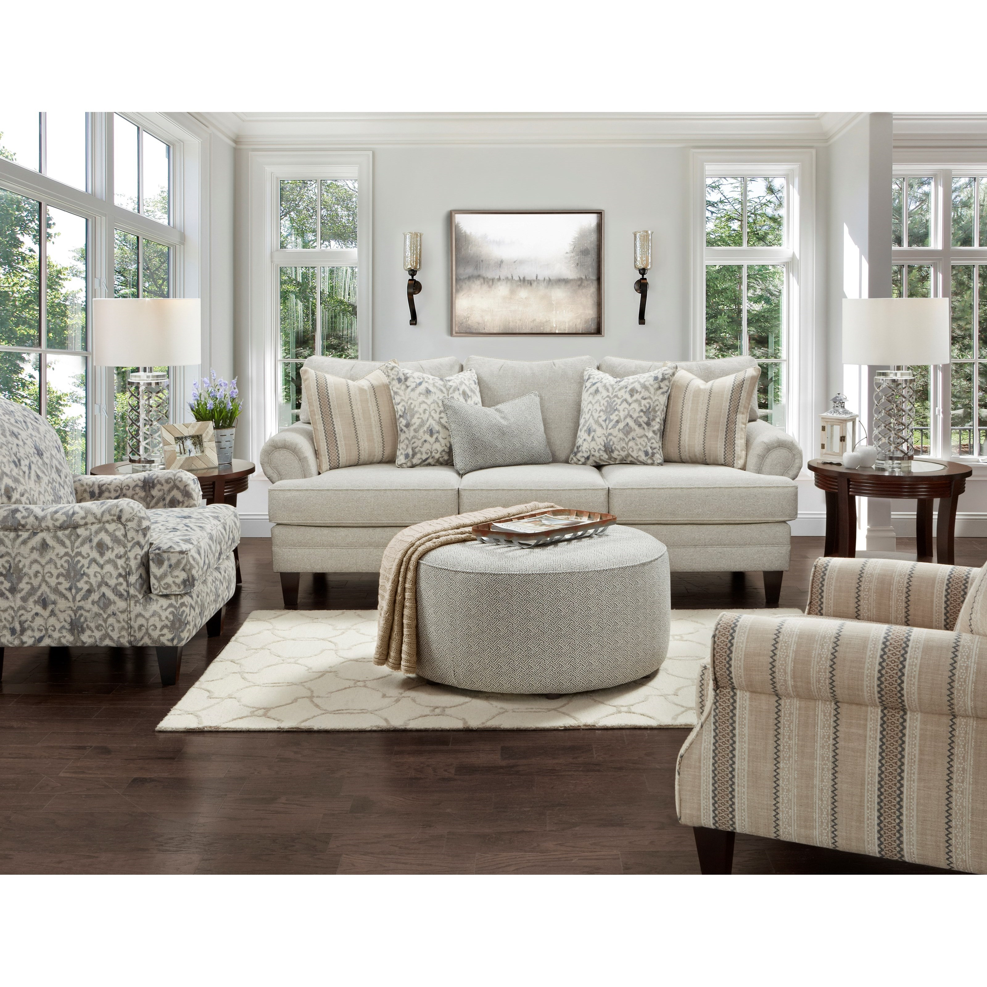 2800-KP Living Room Group by Fusion Furniture at Prime Brothers Furniture