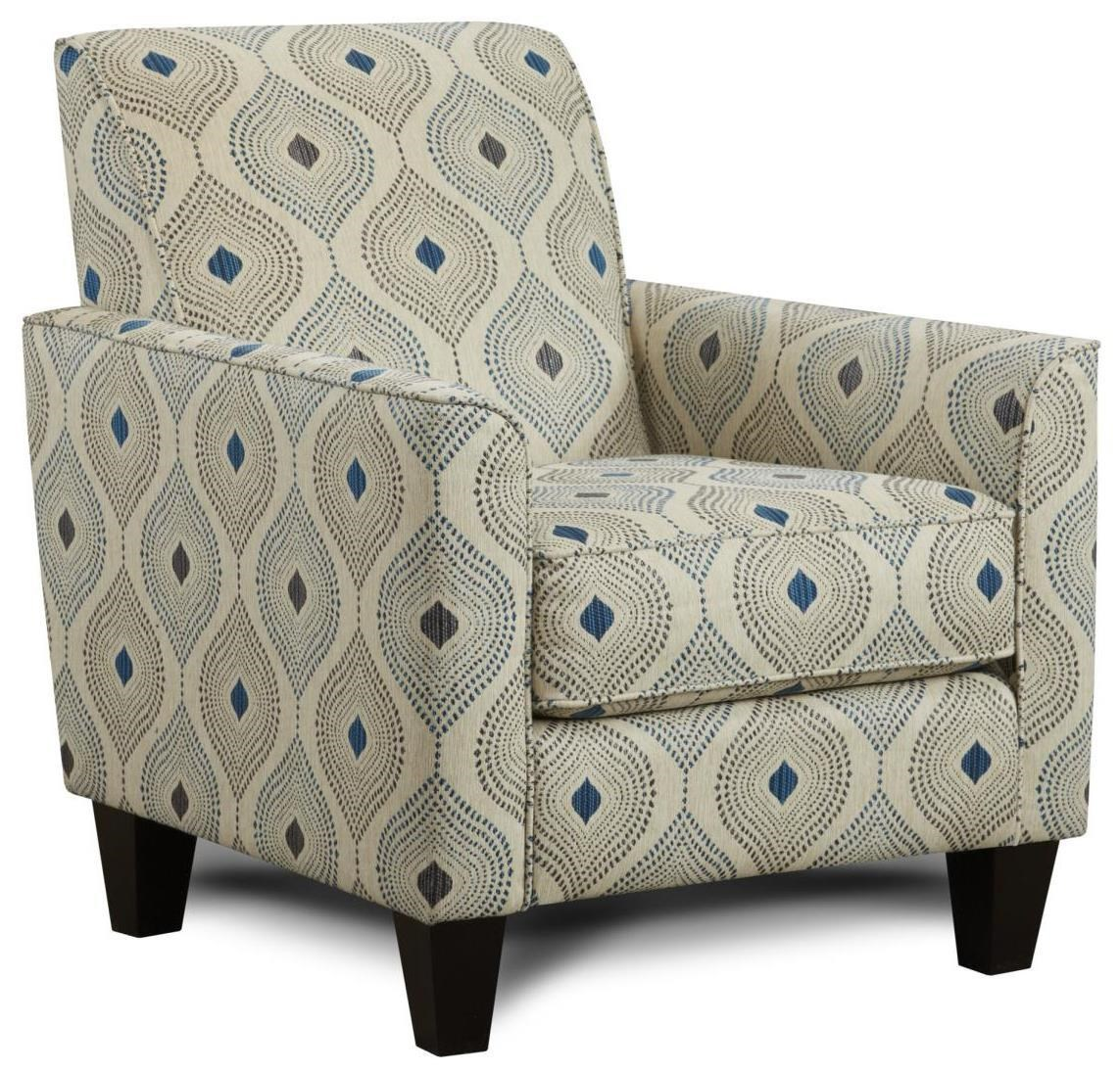 Mirabelle Accent Chair by Fusion Furniture at Crowley Furniture & Mattress