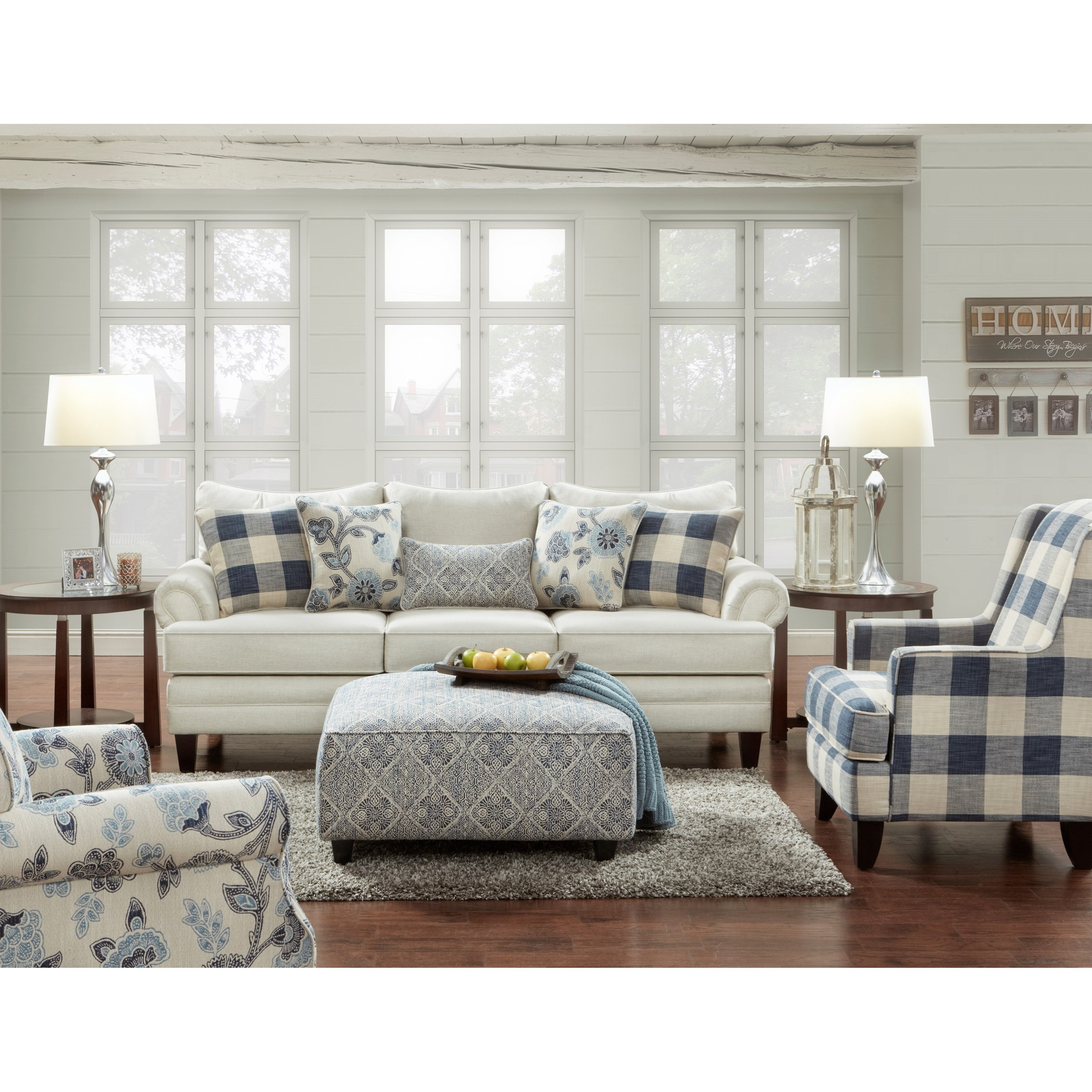 2810 Stationary Living Room Group by FN at Lindy's Furniture Company