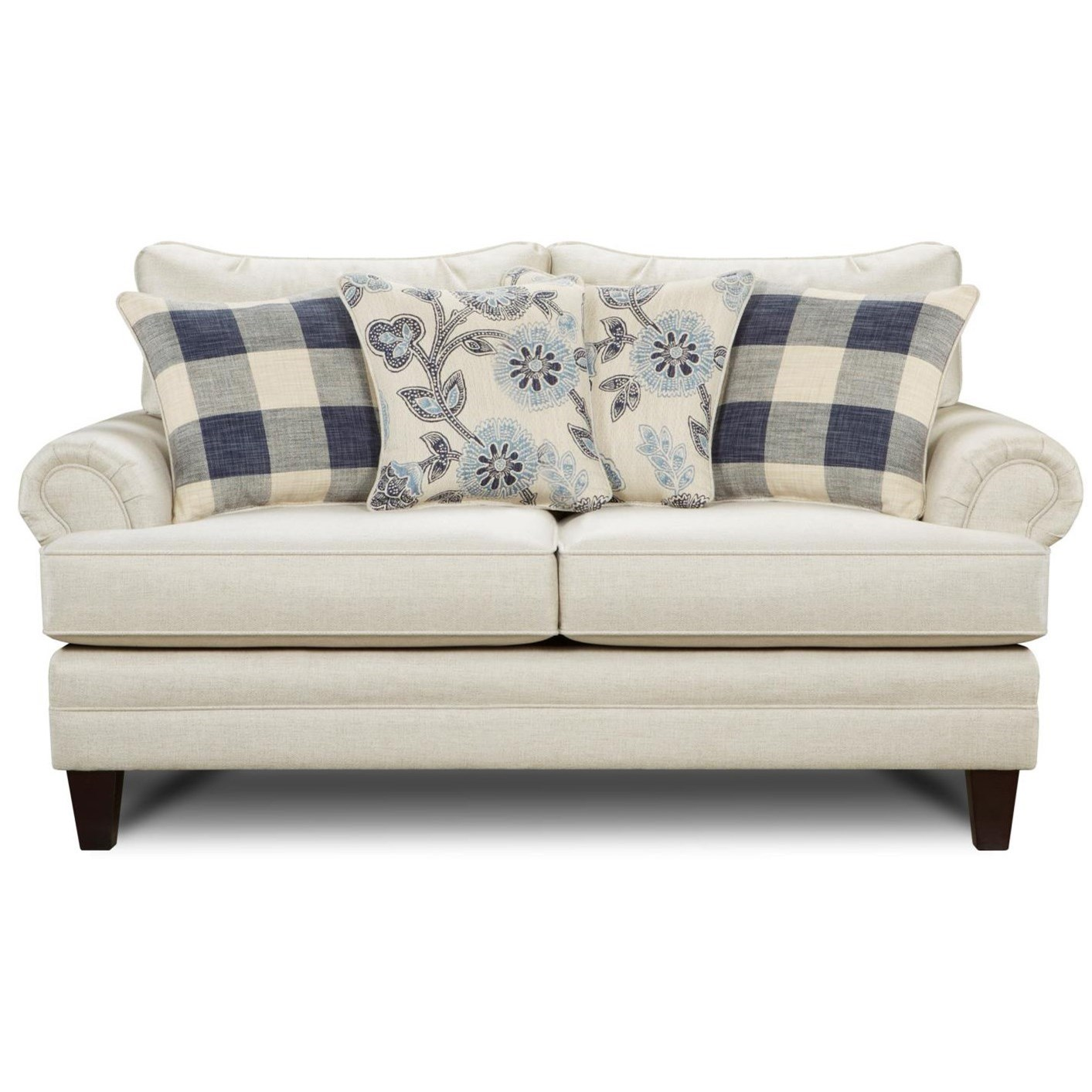 2810 Transitional Loveseat by Fusion Furniture at Wilson's Furniture