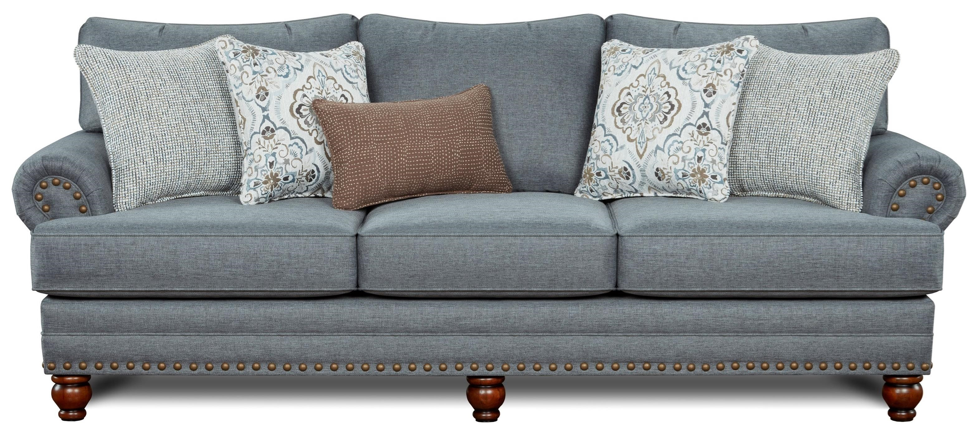 2820 Sofa by FN at Lindy's Furniture Company