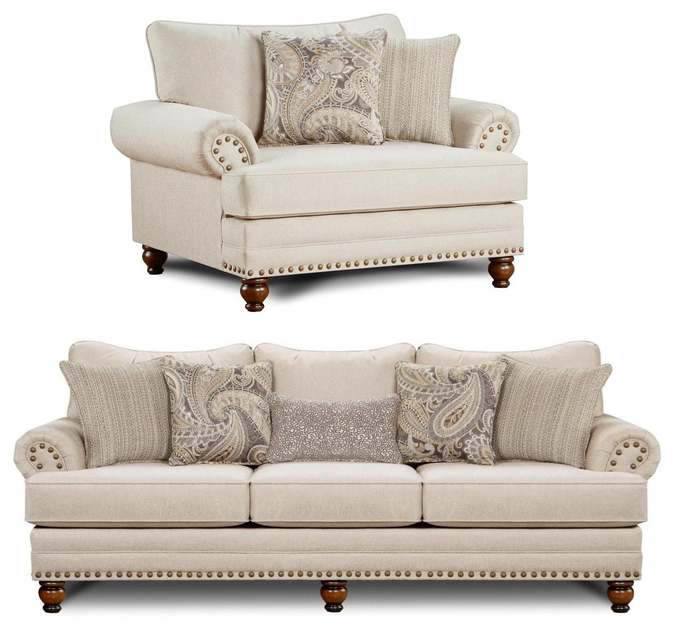 Bambi 2PC Sofa & Chair Set at Rotmans