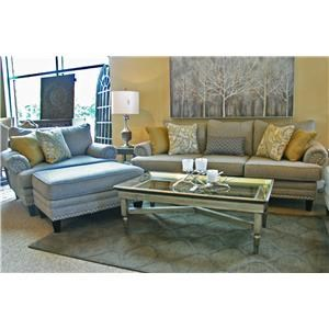 Fusion Furniture 2830 Sofa, Chair, and Ottoman