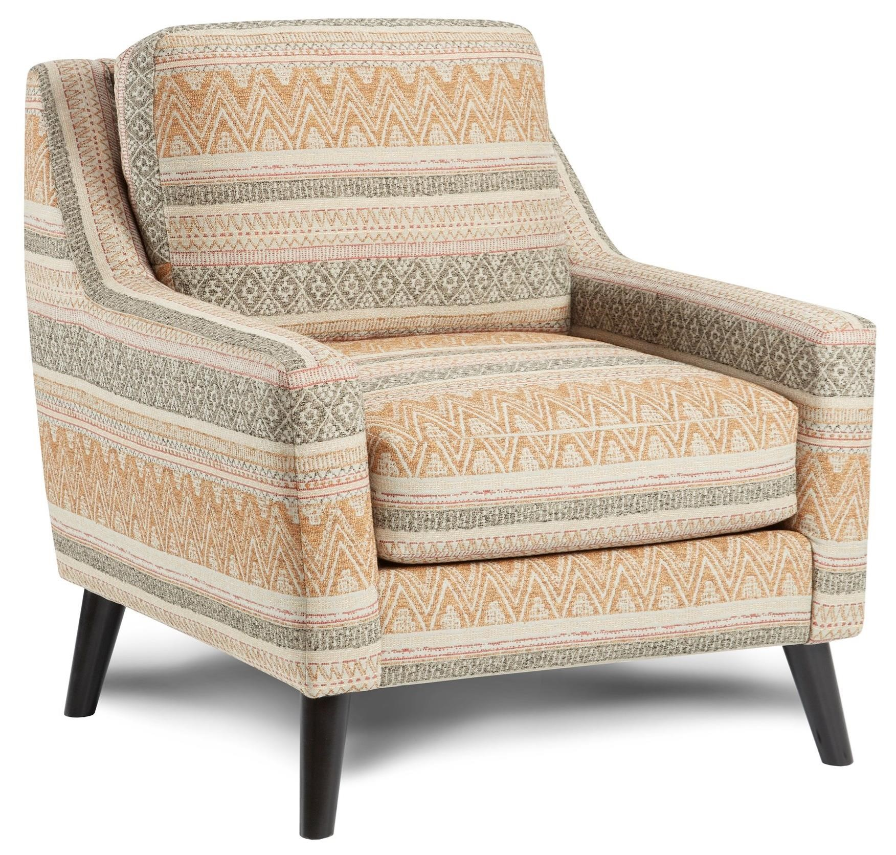 290 Upholstered Chair by Fusion Furniture at Miller Waldrop Furniture and Decor