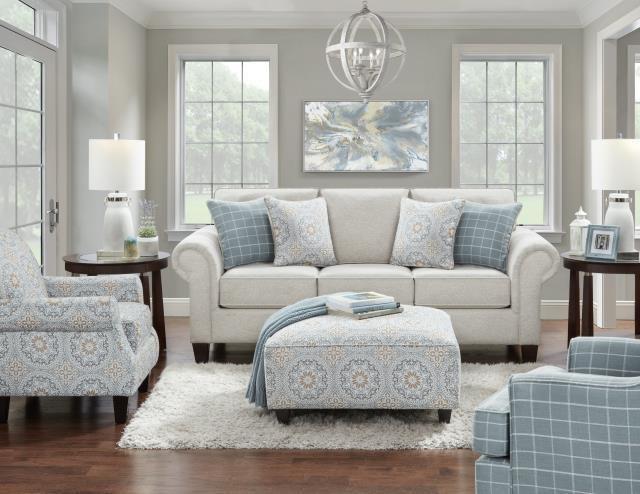 3100 Stationary Living Room Group by Fusion Furniture at Furniture Fair - North Carolina