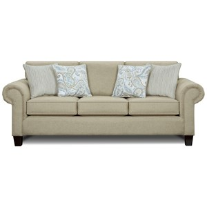 Sleeper Sofa with Rolled Arms