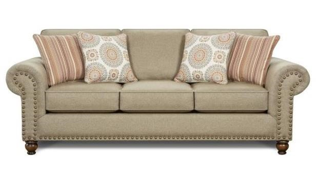 3110 Sofa by Fusion Furniture at Miller Waldrop Furniture and Decor