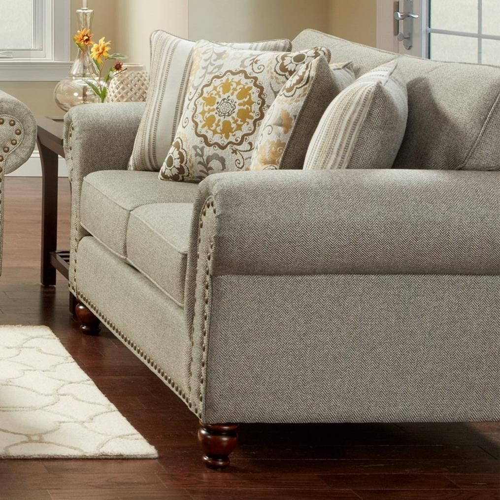 3110 Loveseat by Fusion Furniture at Miller Waldrop Furniture and Decor