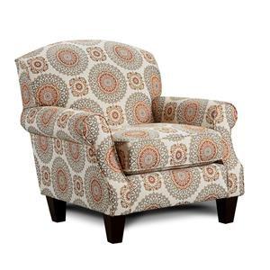 Brianne Marmalade Accent Chair