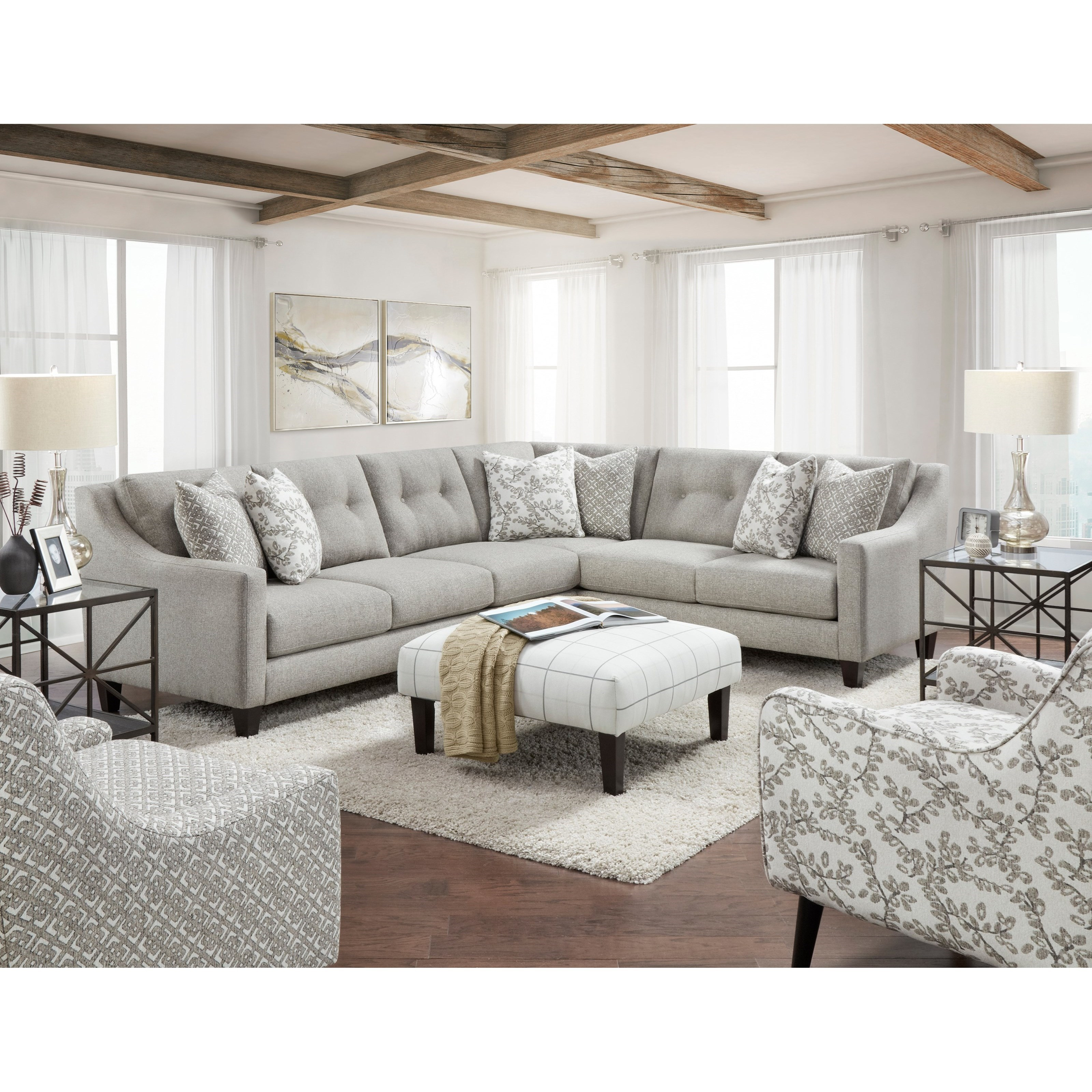 3280 Living Room Group by Fusion Furniture at Wilson's Furniture