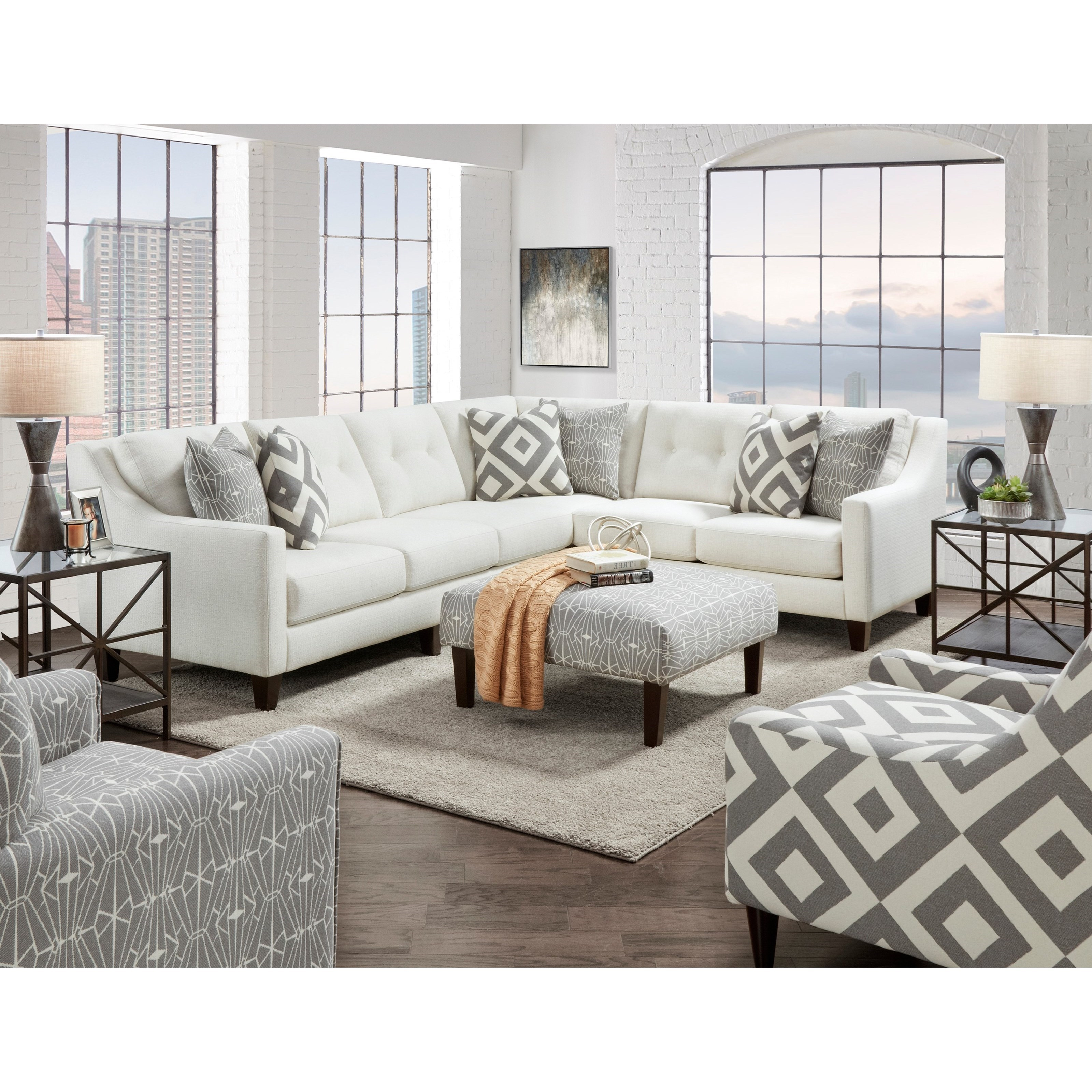 3280 Living Room Group by Fusion Furniture at Wilcox Furniture