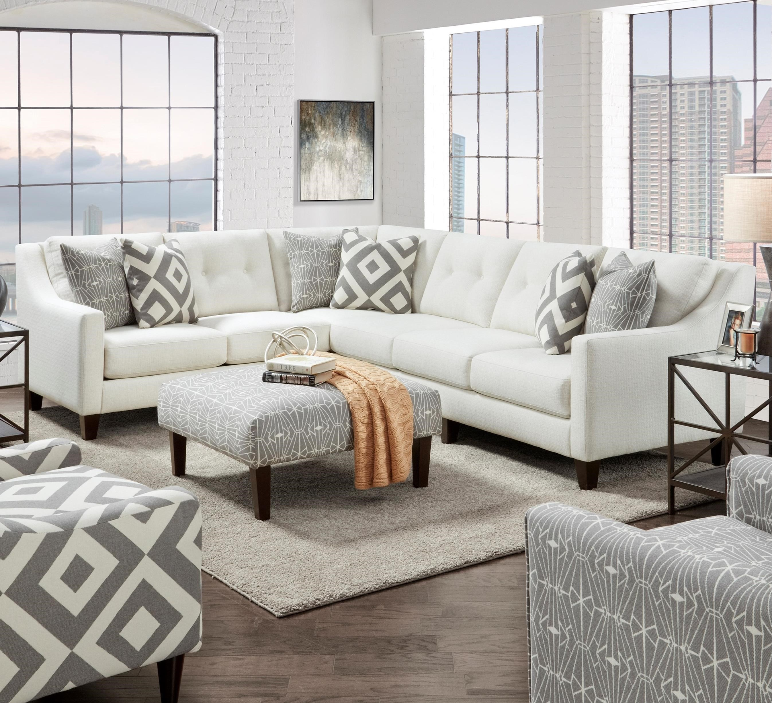 3280 2-Piece Sectional by Fusion Furniture at Wilson's Furniture