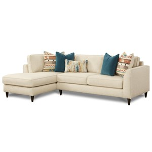 2-Piece Sectional Sofa with Left Arm Facing Chaise