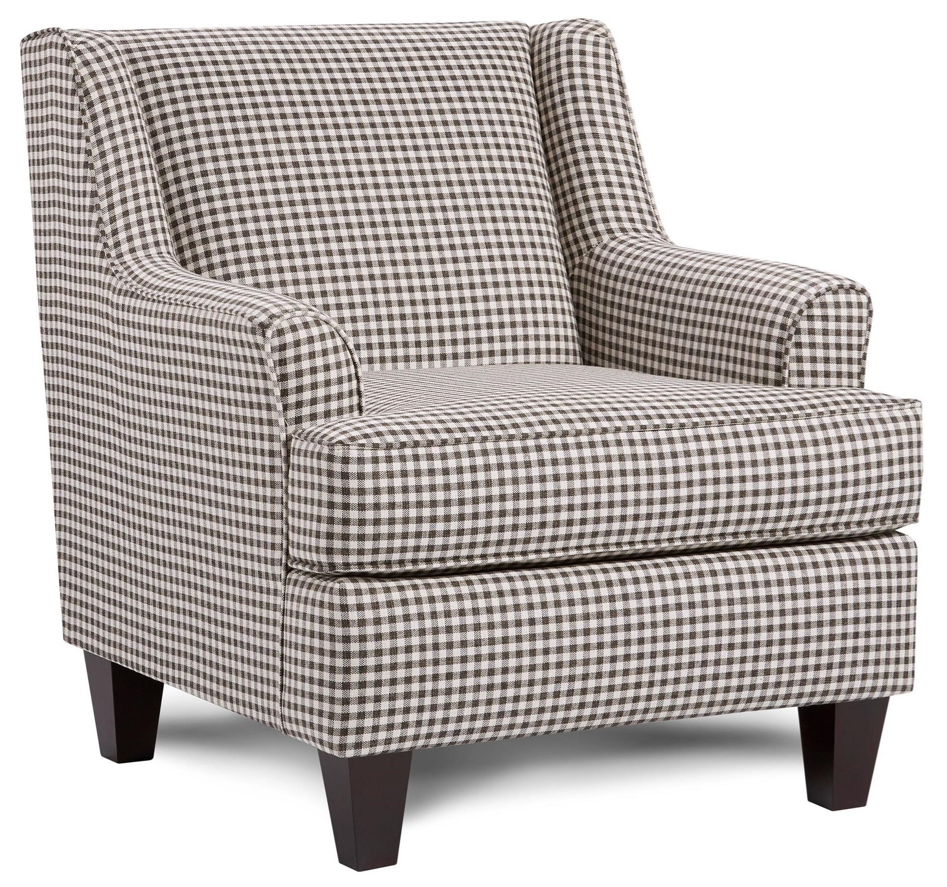 340 Upholstered Chair by Fusion Furniture at Prime Brothers Furniture