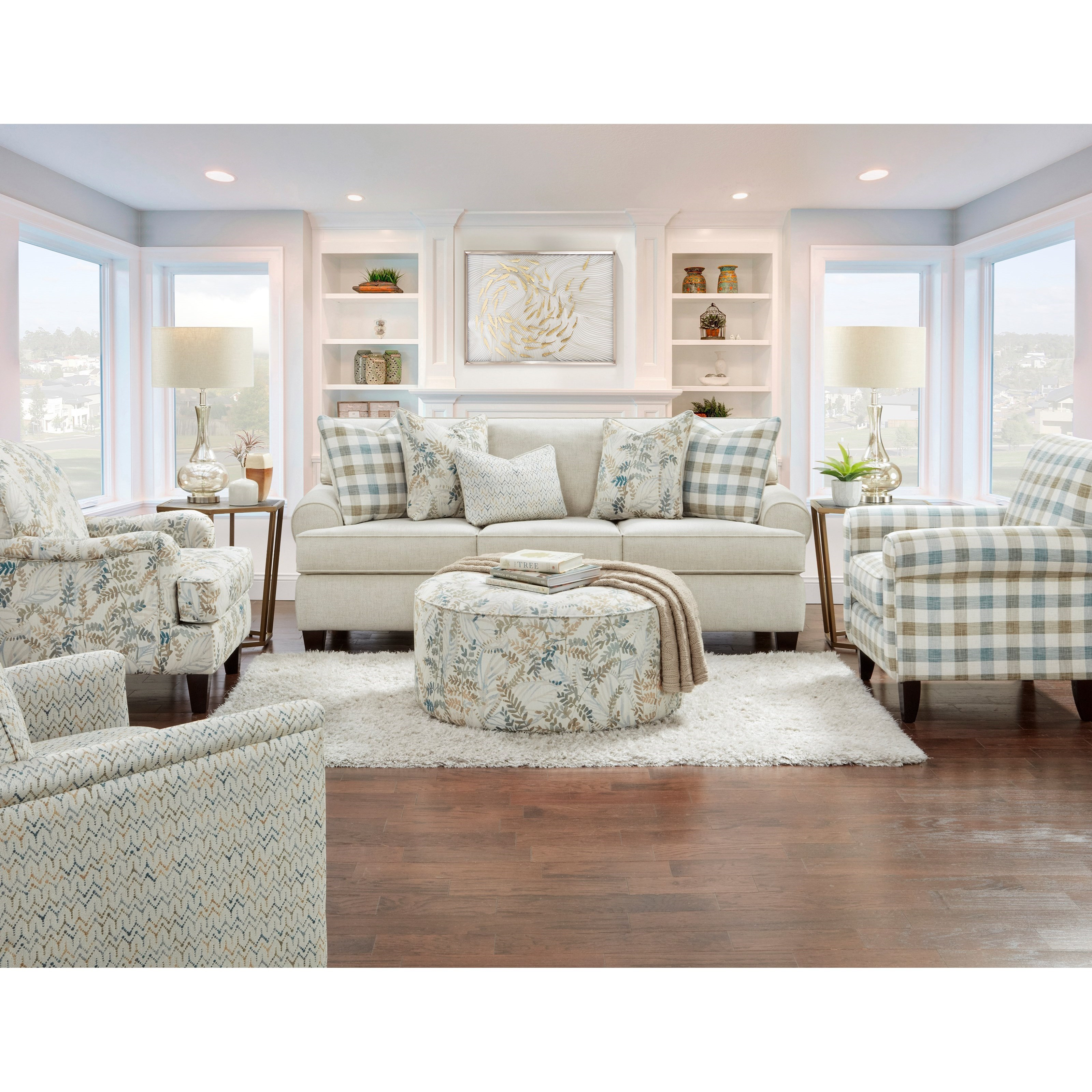 39-00 Living Room Group by Fusion Furniture at Wilson's Furniture