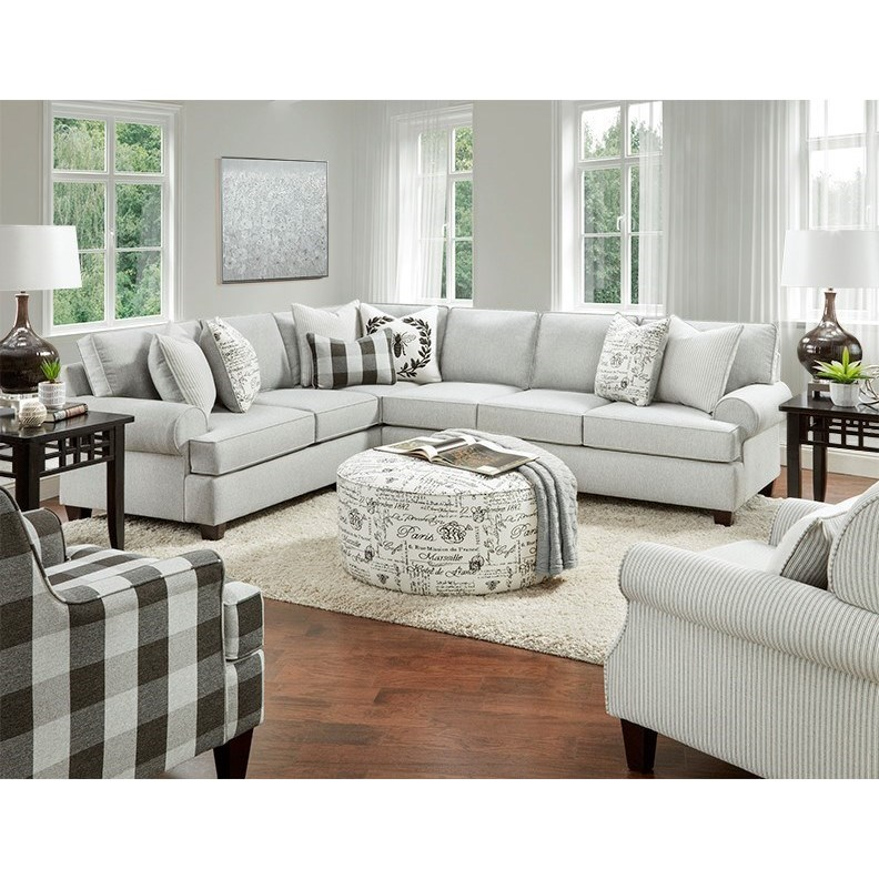 39-00 Living Room Group by FN at Lindy's Furniture Company